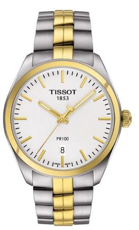 Tissot PR100  Two Tone Stainless Steel Men's Watch T101.410.22.031.00