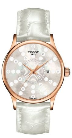 Tissot T-Gold Rose Dream  Women's Watch T914.210.76.116.01
