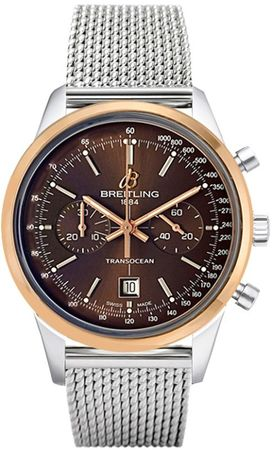 Breitling Transocean Chronograph 38  Men's Watch U4131012/Q600-171A