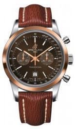 Breitling Transocean Chronograph 38  Men's Watch U4131012/Q600-221X