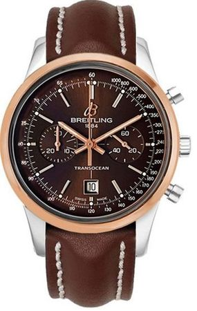 Breitling Transocean Chronograph 38  Men's Watch U4131012/Q600-425X