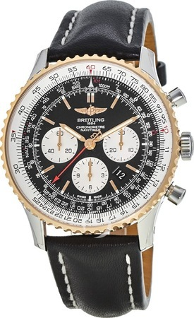 Breitling Navitimer 01 (46mm) Automatic Steel & Rose Gold Men's Watch UB012721/BE18-441X