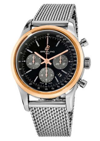 Breitling Transocean Chronograph  Men's Watch UB015212/BC74-154A