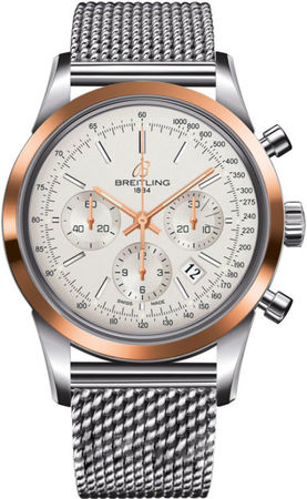 Breitling Transocean Chronograph  Men's Watch UB015212/G777-154A