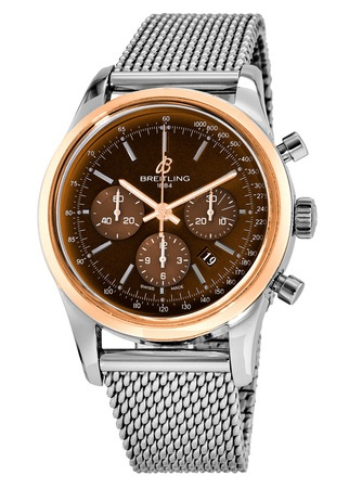 Breitling Transocean Chronograph  Men's Watch UB015212/Q594-154A