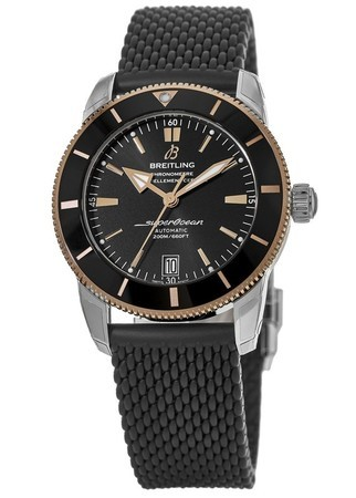 Breitling Superocean Heritage II Automatic 42 Rose Gold and Steel Black Rubber Strap UB2010121B1S1 Men's Watch UB201012/BG53-279S