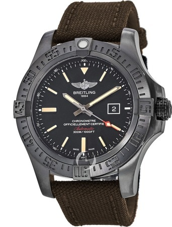Breitling Avenger Avenger Blackbird 48 Special Edition Black Titanium Men's Watch V1731010/BD12-105W