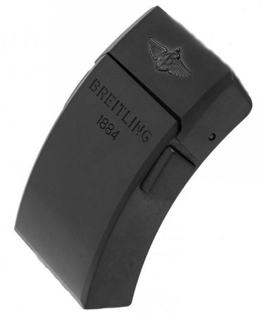 Breitling Steel 20mm Black Titanium Deployment Men's Buckle V20DSA.2