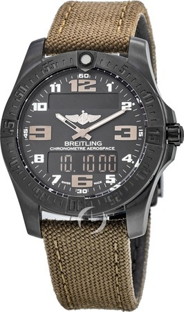 Breitling Professional Aerospace Evo Night Mission Men's Watch V7936310/BD60-108W