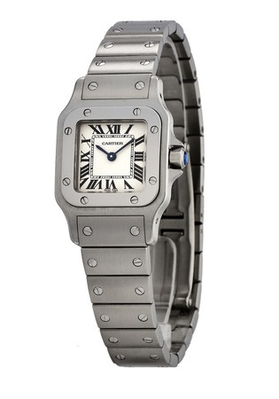 Cartier Santos Galbee  Women's Watch W20056D6