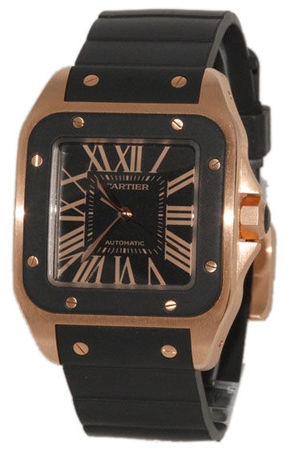 Cartier Santos 100 Automatic  Men's Watch W20124U2