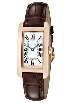 Cartier Tank Americaine  Women's Watch W2607456
