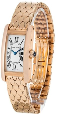 Cartier Tank Americaine  Women's Watch W2620031