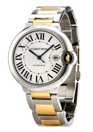 Cartier Ballon Bleu 42mm Automatic Yellow Gold & Steel Men's Watch W2BB0022