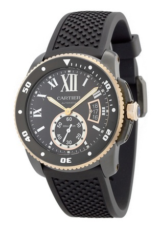 Cartier Calibre de Cartier Diver  Men's Watch W2CA0004