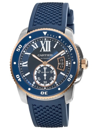 Cartier Calibre de Cartier Diver  Men's Watch W2CA0009