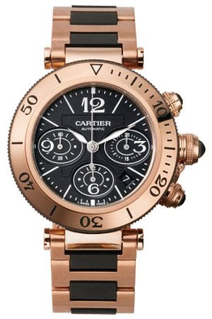 Cartier Pasha Seatimer Chronograph  Men's Watch W301980M