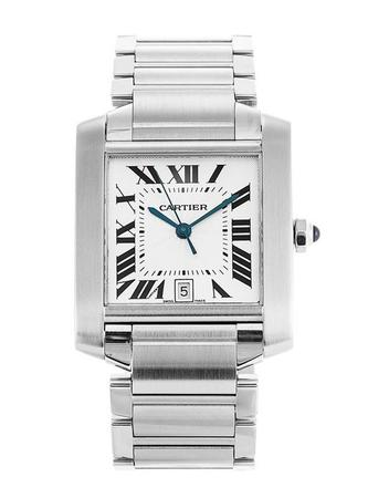 Cartier Tank Francaise  Men's Watch W51002Q3
