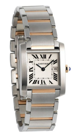 Cartier Tank Francaise  Women's Watch W51012Q4