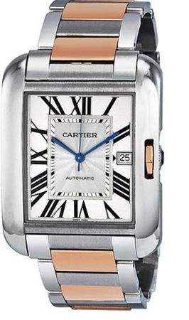 Cartier Tank Anglaise  Men's Watch W5310006