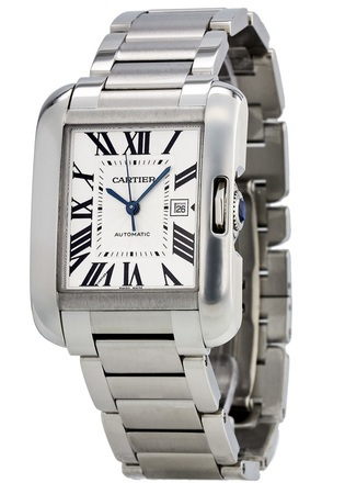 Cartier Tank Anglaise Medium Automatic Steel Unisex Watch W5310009