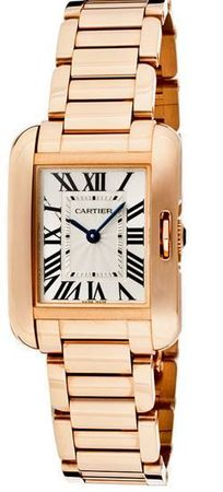 Cartier Tank Anglaise  Women's Watch W5310013