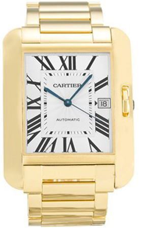Cartier Tank Anglaise  Men's Watch W5310018