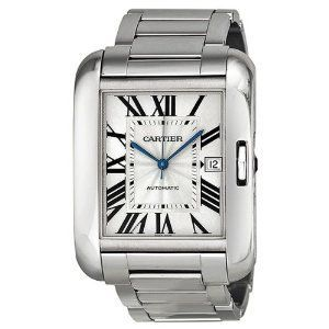 Cartier Tank Anglaise  Men's Watch W5310025