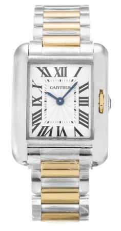 Cartier Tank Anglaise  Women's Watch W5310046