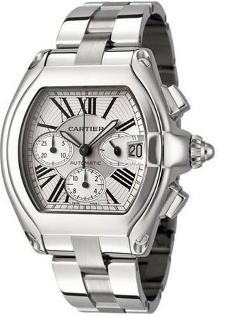 Cartier Roadster  Chronograph Men's Watch W62019X6