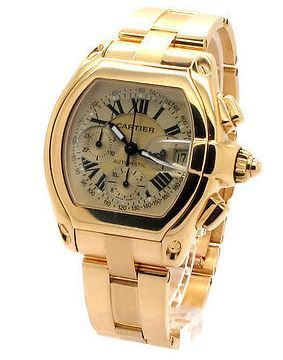 Cartier Roadster  Chronograph Men's Watch W62021Y2
