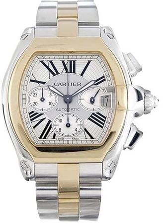 Cartier Roadster  Chronograph Men's Watch W62027Z1