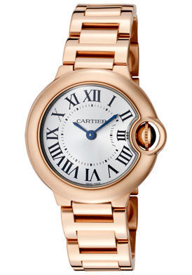 Cartier Ballon Bleu 28mm  Women's Watch W69002Z2