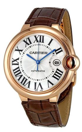 Cartier Ballon Bleu 42mm  Men's Watch W6900651