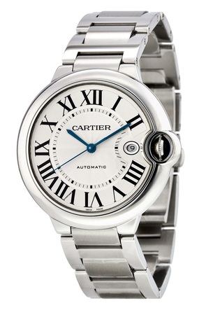 Cartier Ballon Bleu 42mm  Men's Watch W69012Z4