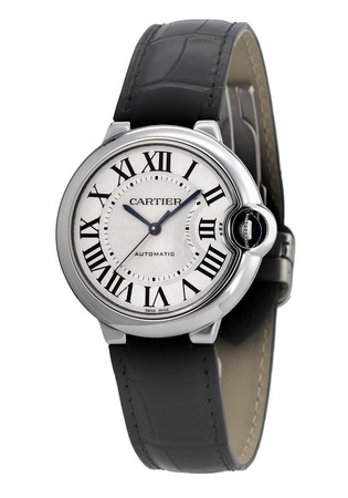 Cartier Ballon Bleu 36mm Automatic Midsize Women's Watch W69017Z4