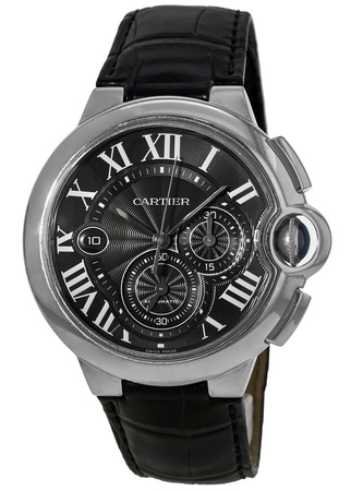 Cartier Ballon Bleu Chronograph  Men's Watch W6920052