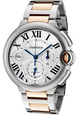 Cartier Ballon Bleu Chronograph  Men's Watch W6920063