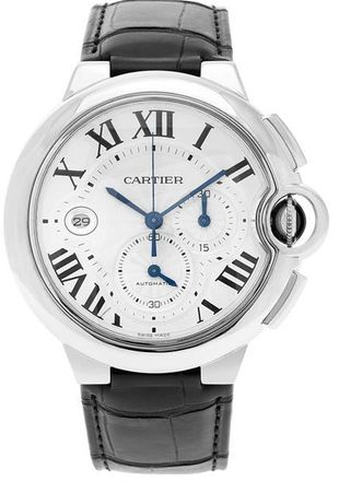 Cartier Ballon Bleu Chronograph  Men's Watch W6920078