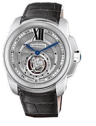 Cartier Calibre de Cartier  Flying Tourbillon Men's Watch W7100003