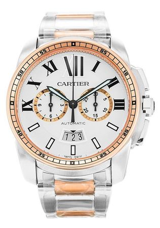 Cartier Calibre de Cartier Chronograph  Men's Watch W7100042