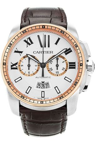 Cartier Calibre de Cartier Chronograph  Men's Watch W7100043