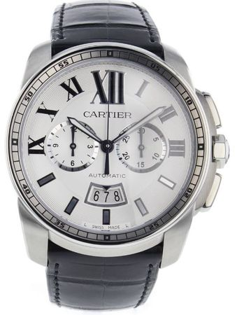 Cartier Calibre de Cartier Chronograph  Men's Watch W7100046