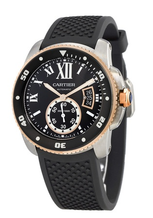 Cartier Calibre de Cartier Diver  Men's Watch W7100055