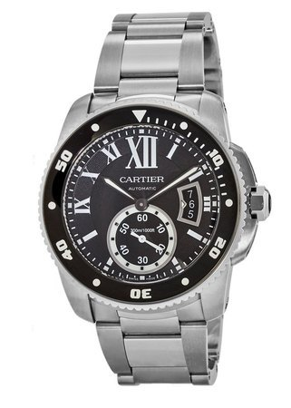 Cartier Calibre de Cartier Diver  Men's Watch W7100057