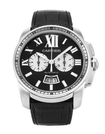 Cartier Calibre de Cartier Chronograph  Men's Watch W7100060