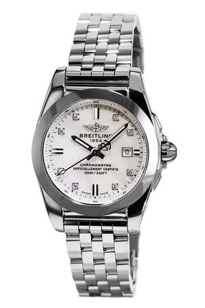 Breitling Galactic 29 Mother of Pearl Diamond Dial Steel Women's Watch W7234812/A785-791A