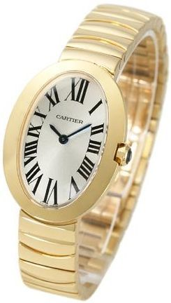 Cartier Baignoire Small  Women's Watch W8000008
