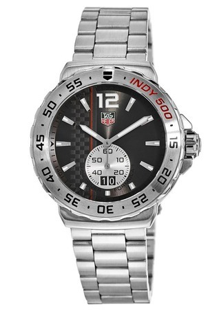 Tag Heuer Formula 1 Quartz Indy 500 Grey Dial Men's Watch WAU1117.BA0858