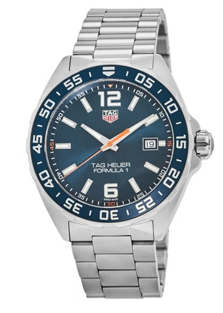Tag Heuer Formula 1 Quartz Blue Dial Men's Watch WAZ1010.BA0842